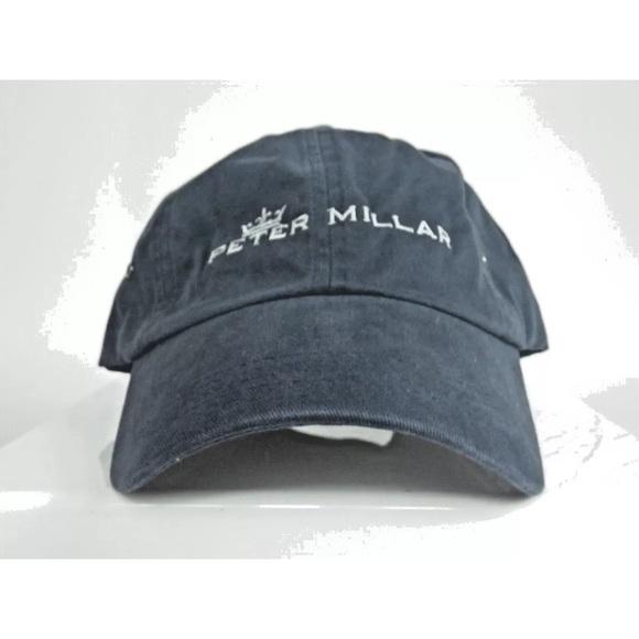 Peter Millar Men s Golf Cap Strapback Adjustable 8a1d997670a